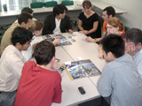 Student project 'Space Tourist Board Game' on June 12, 2005